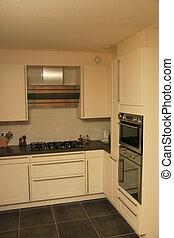 Modern kitchen - Modern contempory styled kitchen in off...