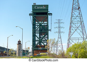 Burlington Canal Lift Bridge, Ontario Canada - The...