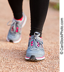 Running shoes - It's important to choose the right footwear...