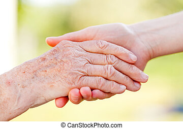 Helping hands - The helping hands for elderly home care