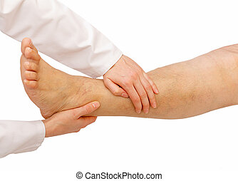 Lower limb examination - General physical examination for...
