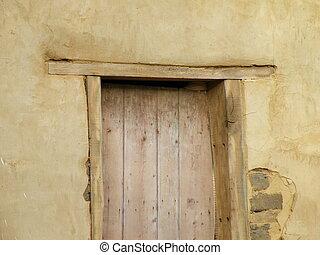 Rustic Doorframe
