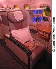 A380 Flight Business Class Seat