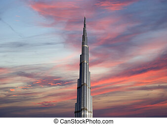 Burj Khalifa (Khalifa tower), known as Burj Dubai prior to...