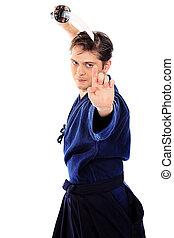 kendo, combattente