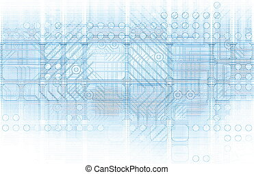 Cybernetics Mechanical Design as a Blueprints Art