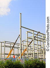 industrial production workshop roof steel beam, north china