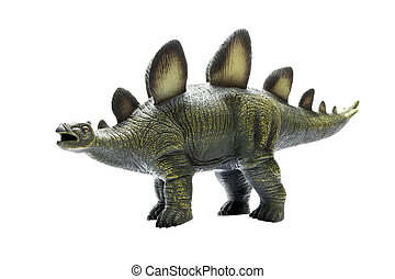 Herbivorous green dinosaur toy, made ??of rubber. - Toy...