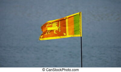 Flag of Sri Lanka - Flag of Democratic Socialist Republic of...
