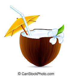 Coconut Cocktail, vector