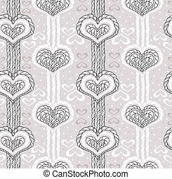 abstract heart pattern - Abstract cute heart pattern