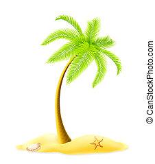 palma, albero, 10eps