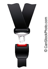 Safety belt, vector