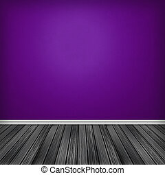 Empty room, interior with wallpaper. High resolution texture...