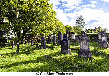 jewish cemetery in St. Wendel at the Galgenberg