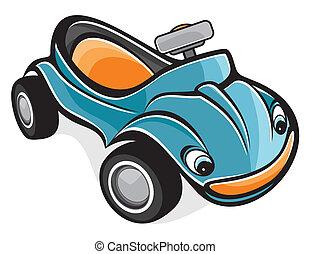 Cute race car