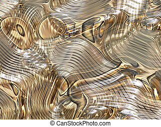 Mercury Ripple Flow Background - Mercury Ripple Flow...