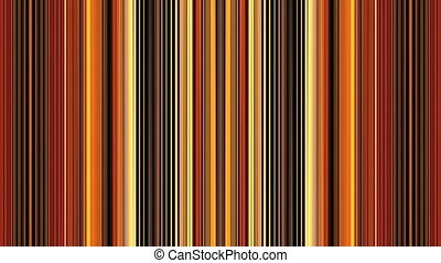 Colorful Curtain With Stripes