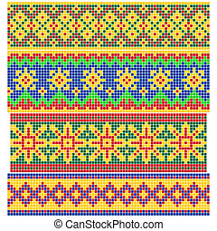 Set of Old Russian patterns