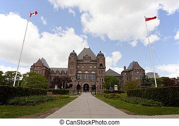 Toronto, parque, rainhas