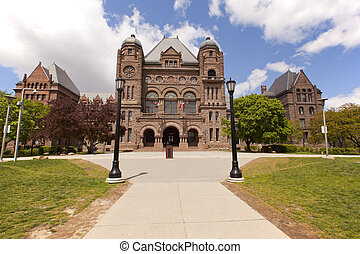 Queens Park Toronto - Queens Park legislative buidings...