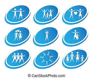 health icons over white background vector illustration