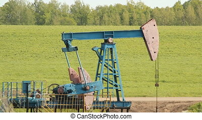 Crude oil production oil rocking chair