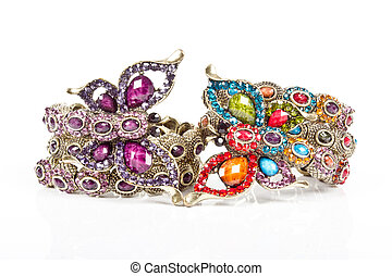 bracelet - A bracelet is an article of jewelry that is worn...
