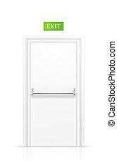 Exit Door, vector