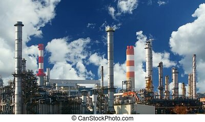 Factory - Refinery plant