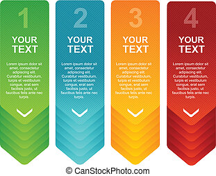 Vector speech templates for text 1 2 3 4