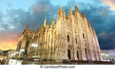 Milan - Time lapse