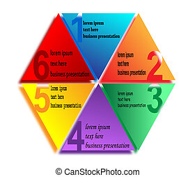 Numbering in Polygon color Business