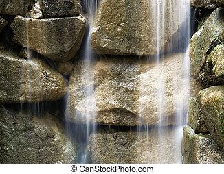 Waterfall detail