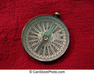 A Brass Compass