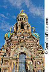 Church of the Savior on Spilled Blood in StPetersburg,...