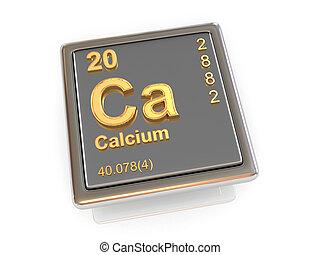 Calcium. Chemical element. 3d