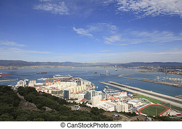 Gibraltar airport and port