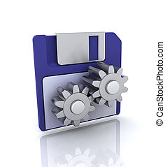 Disk tools icon