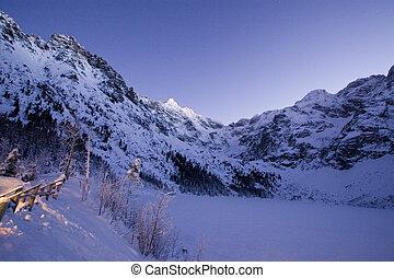 Winter in Tatra mountain