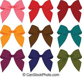 Rainbow  Ribbon EPS10