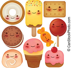 Sweet Collection - Vector File EPS10