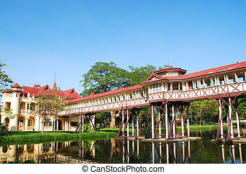 Old palace of Thailand