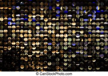 Disco Background 2 - disco background with metal shiny color...