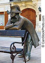 Napoleon statue - Napoleon bronze statue in Bratislava,...