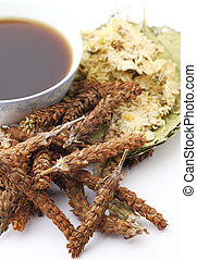 Chinese traditional herbal drink