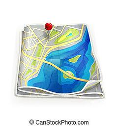 ciudad, mapa