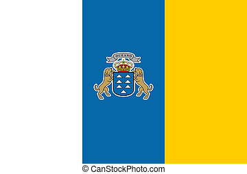 Canary Islands - The Standard flag of Canary Islands
