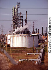 Gas Refinery Plant and Storage