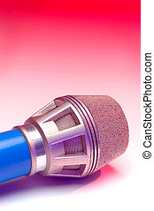 Stage Mic on Red